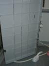 バスタブ下部高圧洗浄:行程1